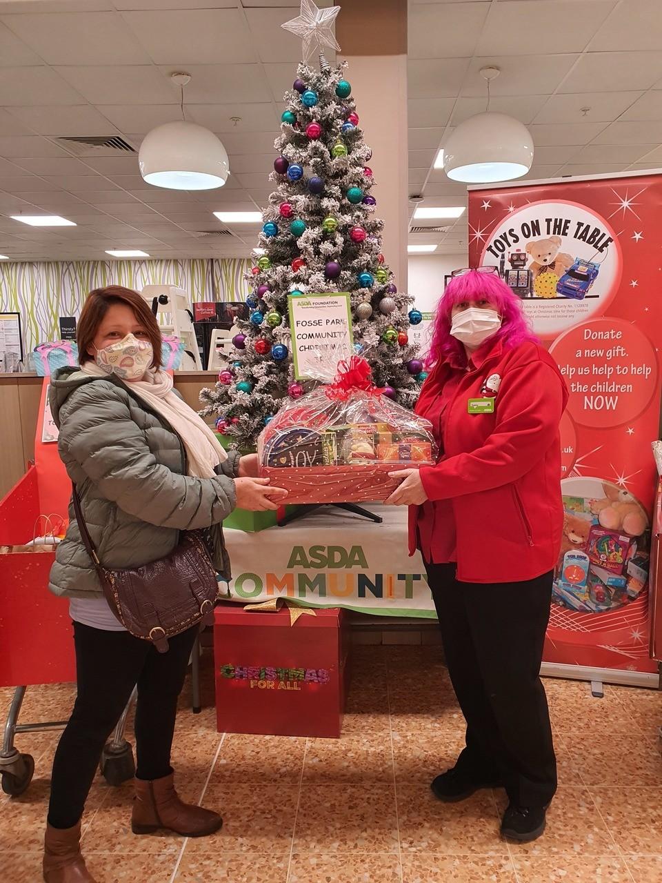 Christmas raffle | Asda Leicester