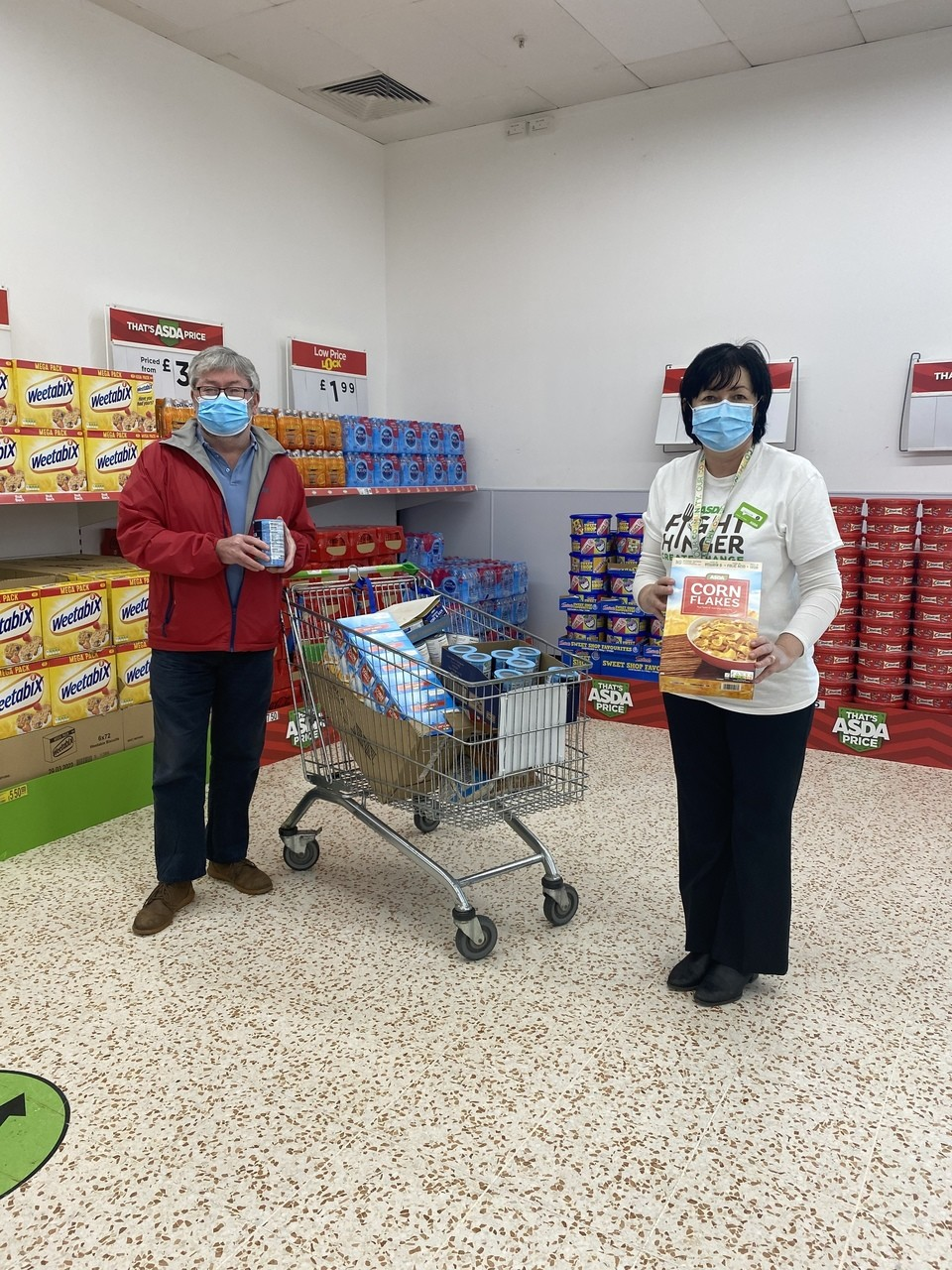 Donations to local food banks  | Asda Cookstown