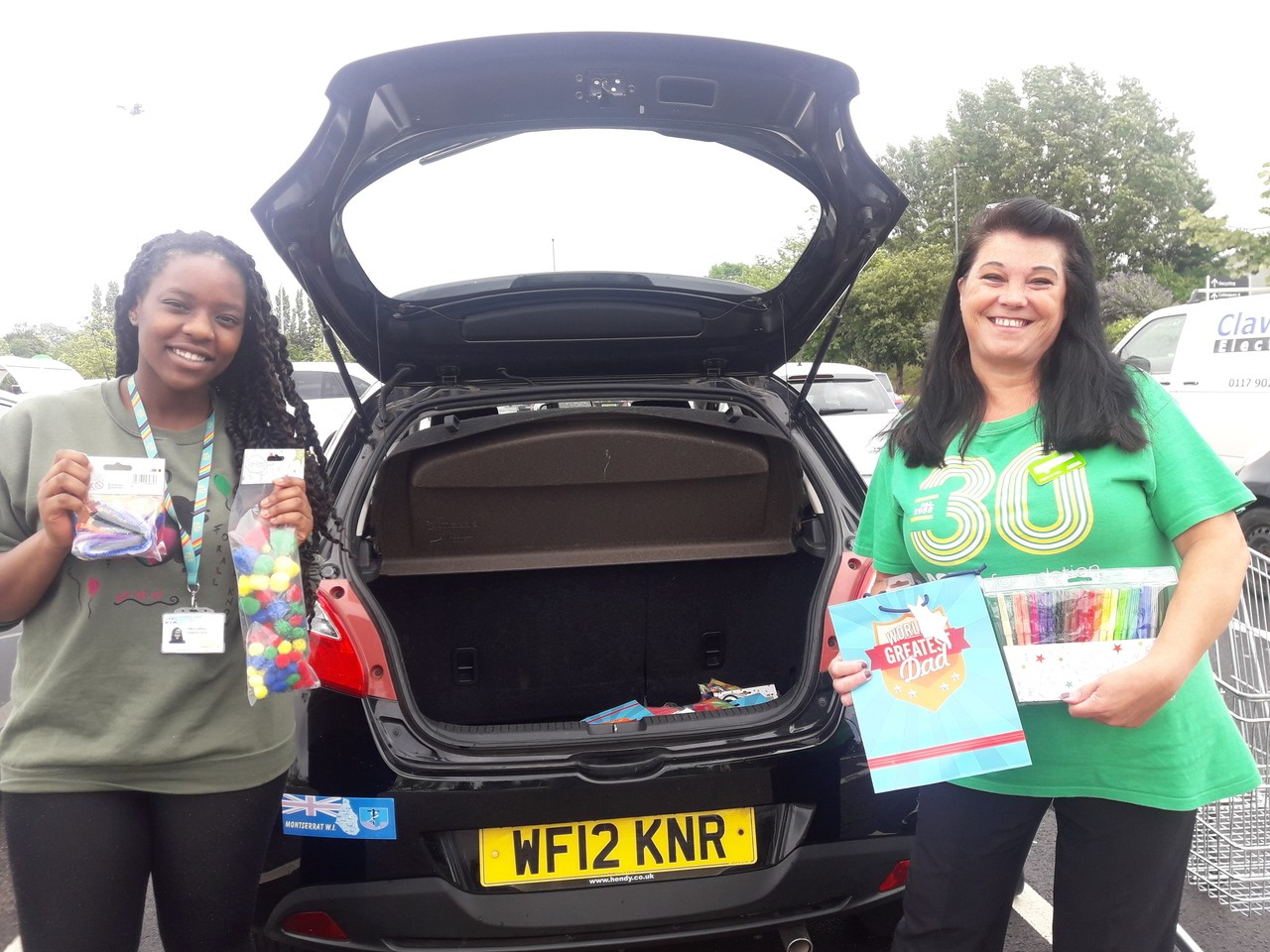 Donation to Off The Record | Asda Patchway