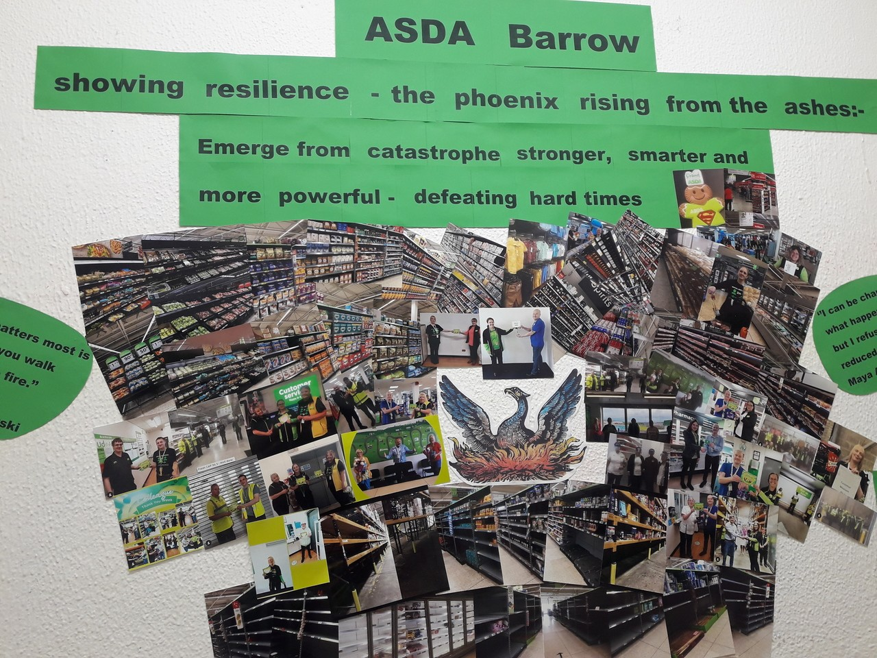Rising like the Phoenix from the ashes! | Asda Barrow