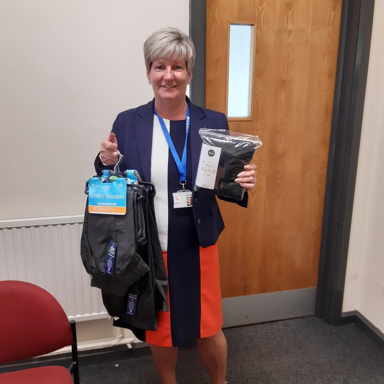 Emergency Uniform for Chesterton Primary   Asda Wolstanton
