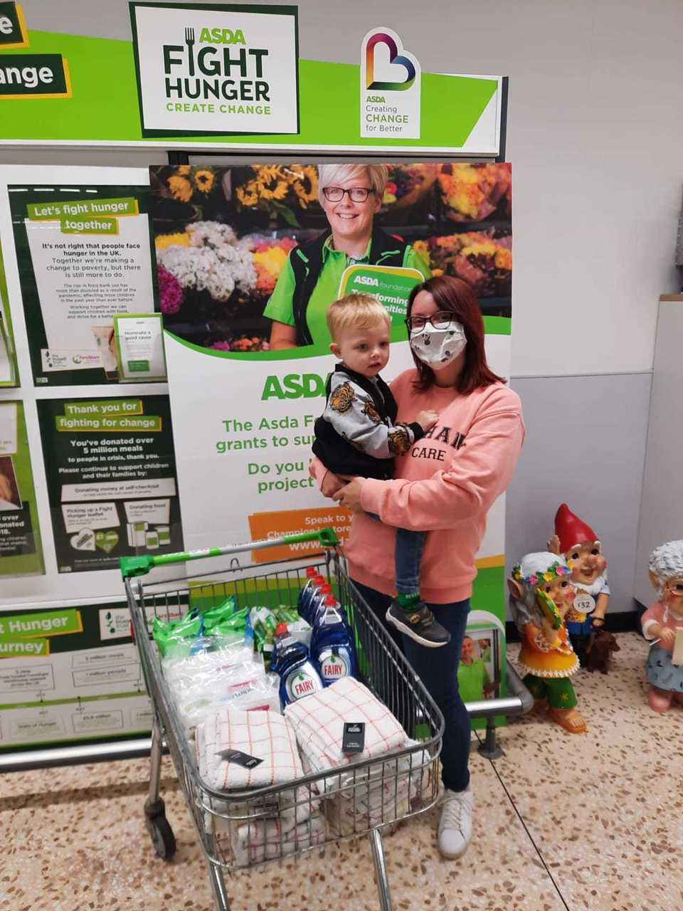 Donations to early learning centre | Asda Peterhead