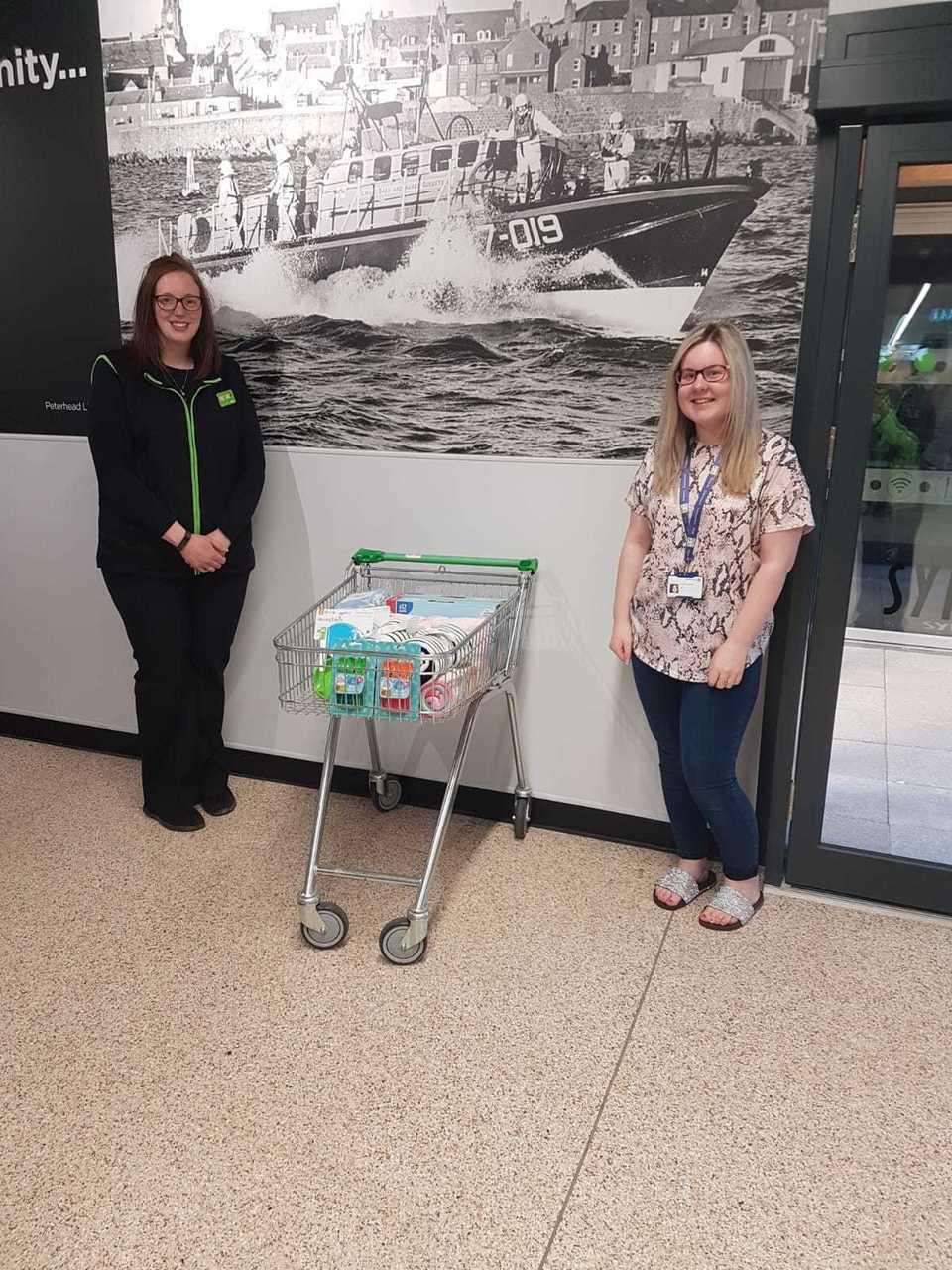Donations to school | Asda Peterhead
