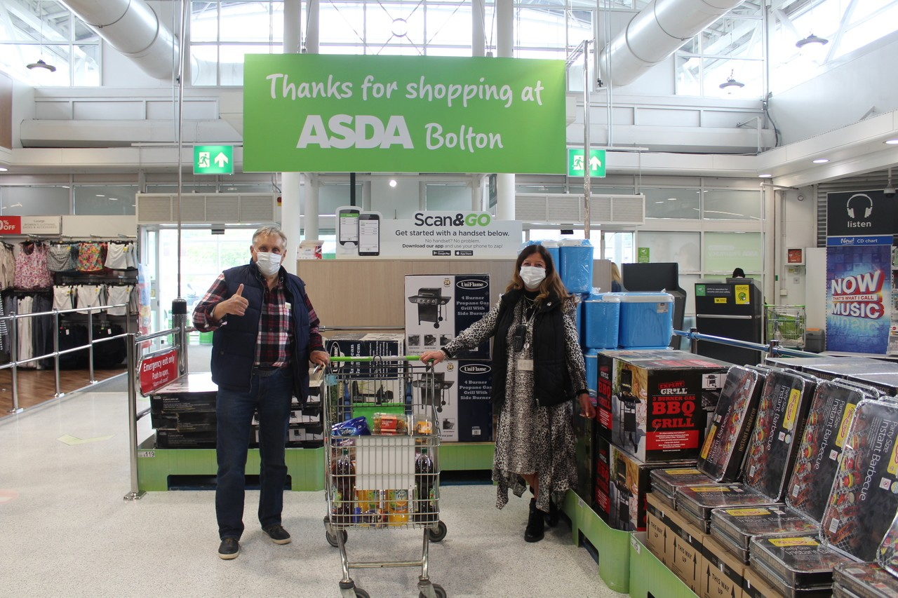Bolton store donation to Astley Bridge Park Bowling Club. | Asda Bolton