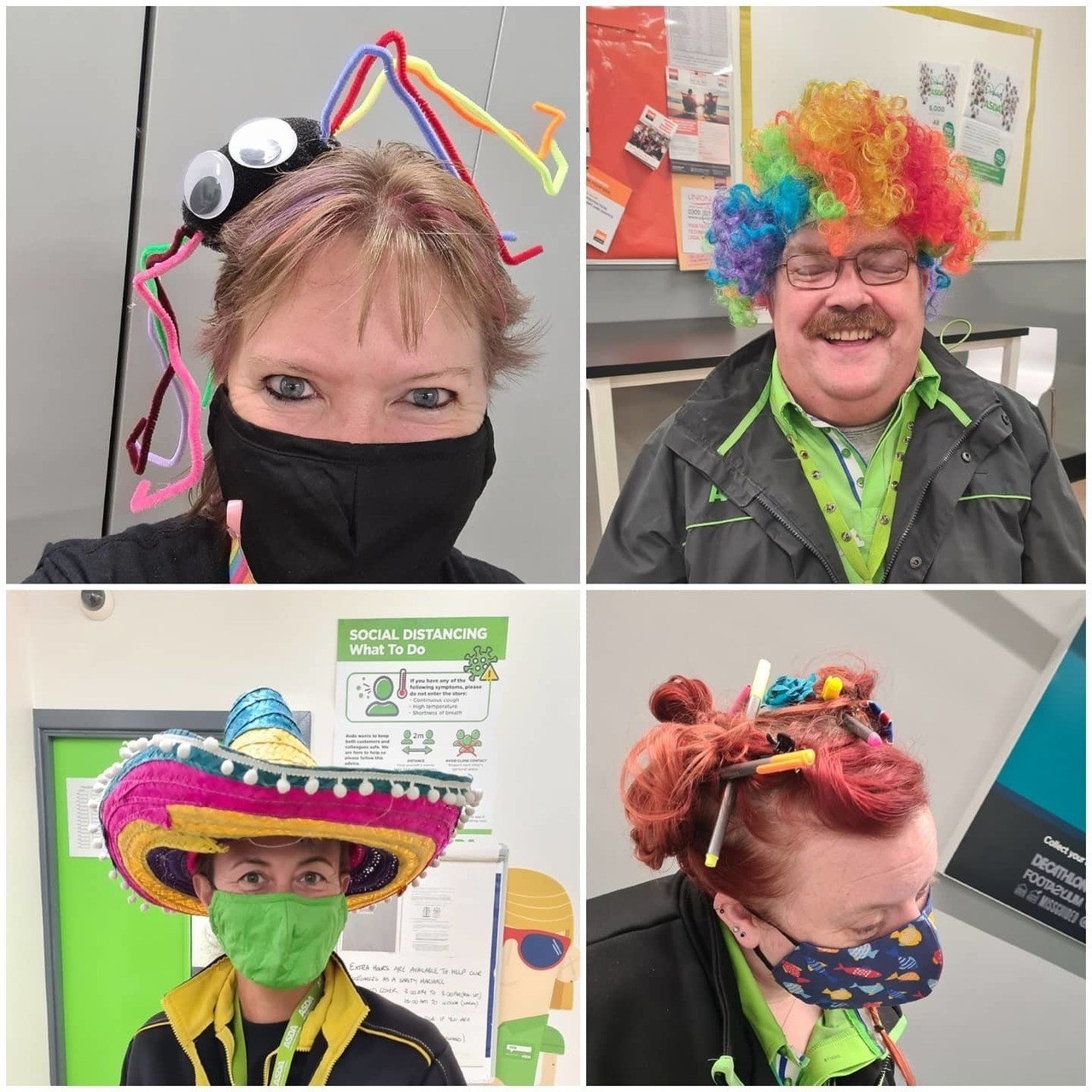 Mad Hatter Day for Tickled Pnk | Asda Newport Isle of Wight