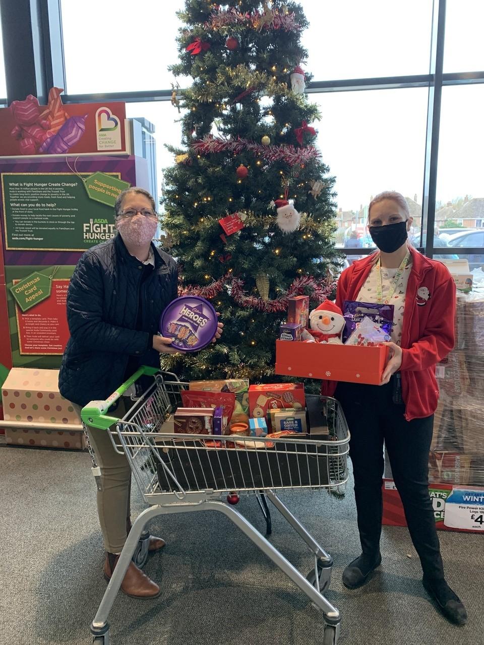 Tendring Primary School donation | Asda Clacton-on-Sea