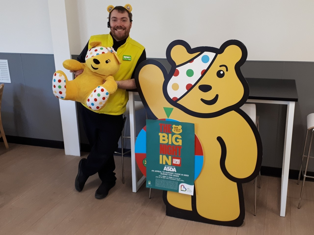 Asda Boston is proud to support the Big Night In  | Asda Boston