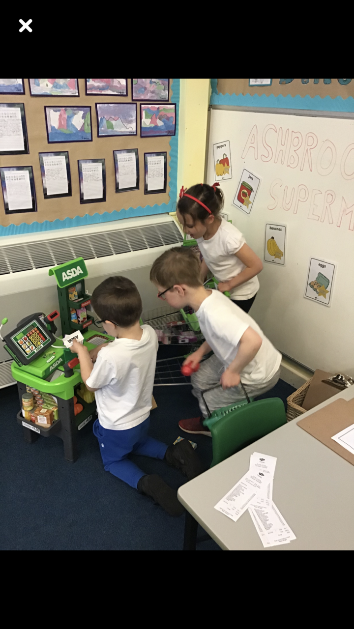 Colleagues of the future school donation | Asda Derby