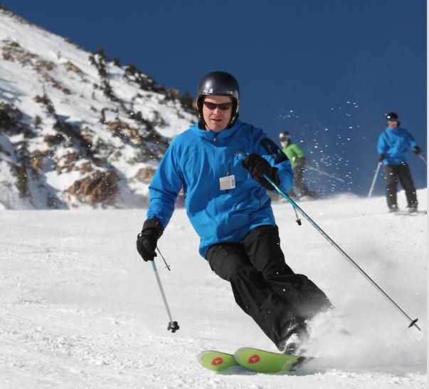 Snowbird skiing picture
