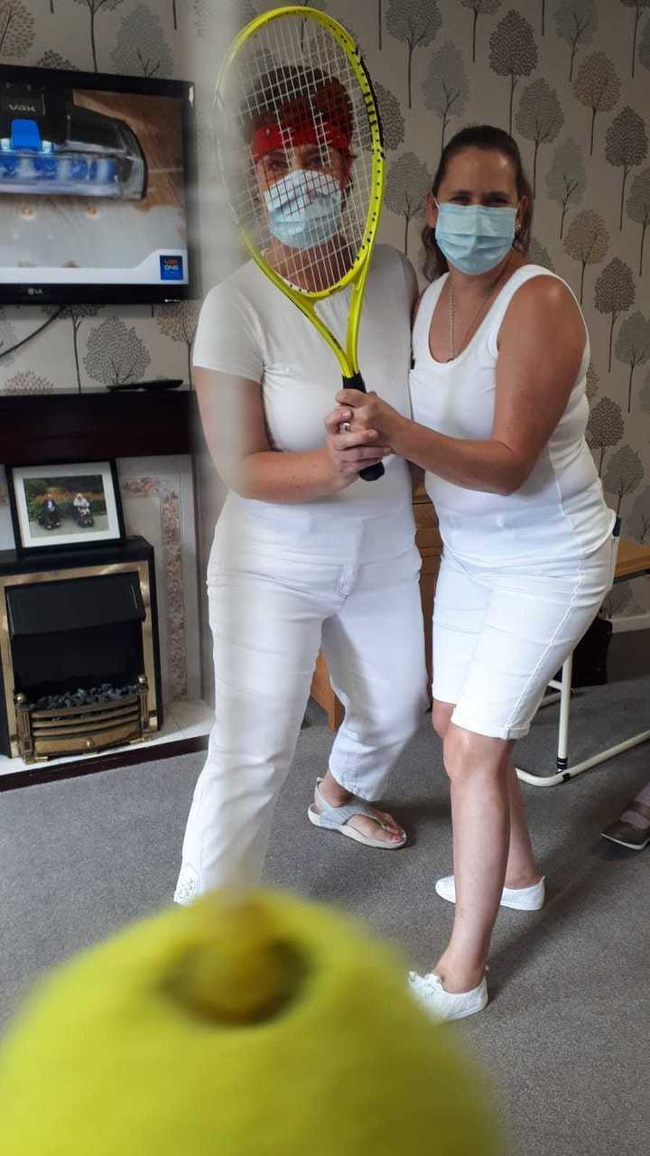 Asda Morley provides donations for Knowle Manor Care Home's Wimbledon-themed day | Asda Morley