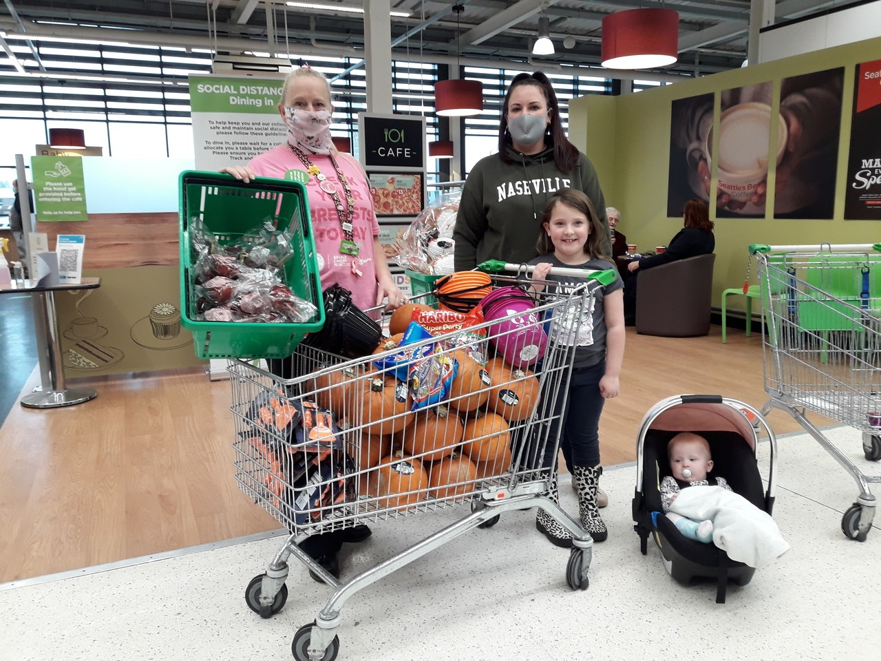 Halloween treats for Kidsmart | Asda Swinton