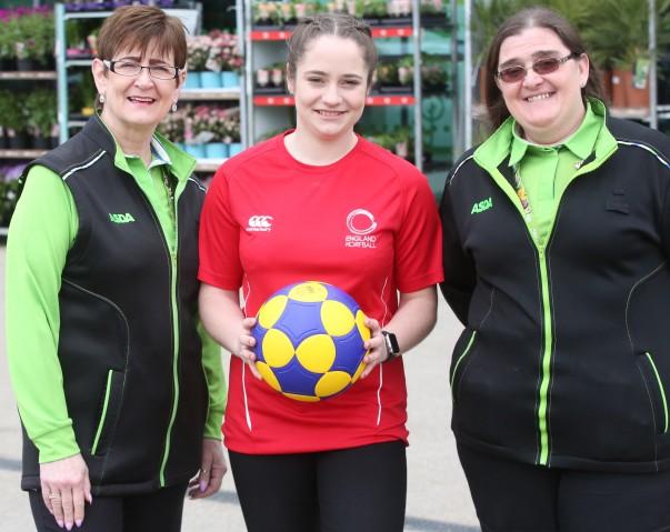 Asda Gillingham Pier colleague and Korfball star Elise Sparks