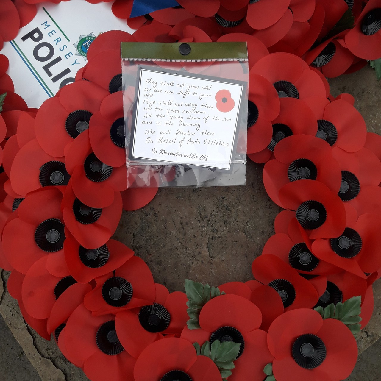 Asda St Helen's remembers | Asda St Helens
