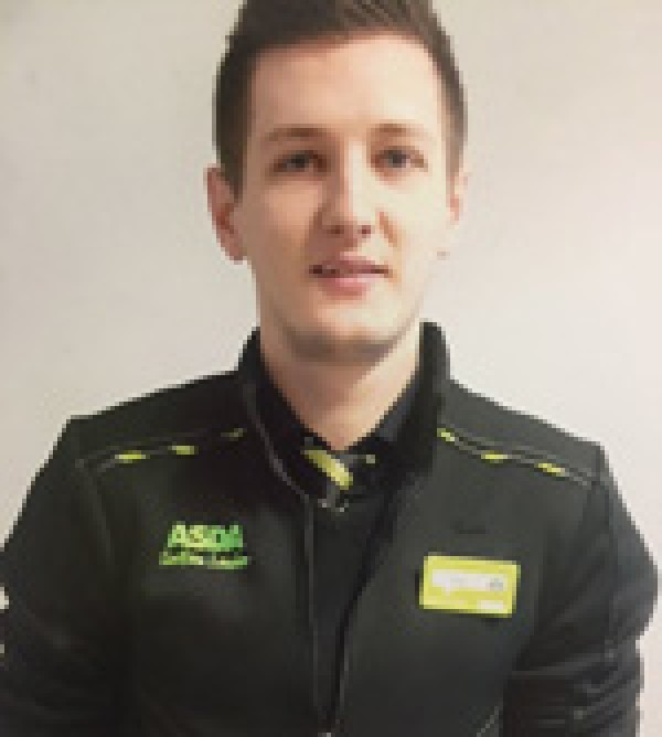 Toby McCauley from Asda Havant plays futsal for the UK