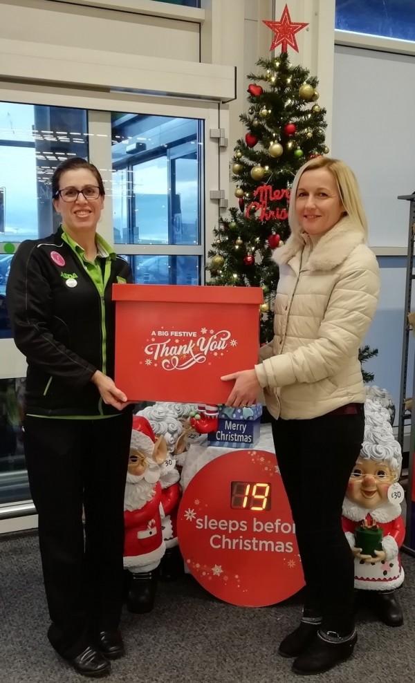 Gift appeal at Asda Fraserburgh