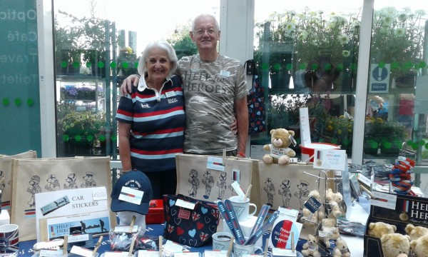 Help for Heroes at Asda Colchester