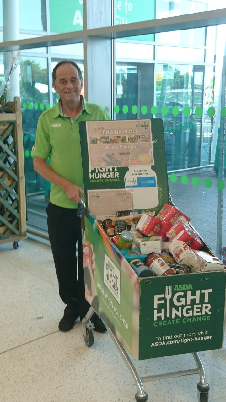 More food bank donations from Asda Filton | Asda Filton