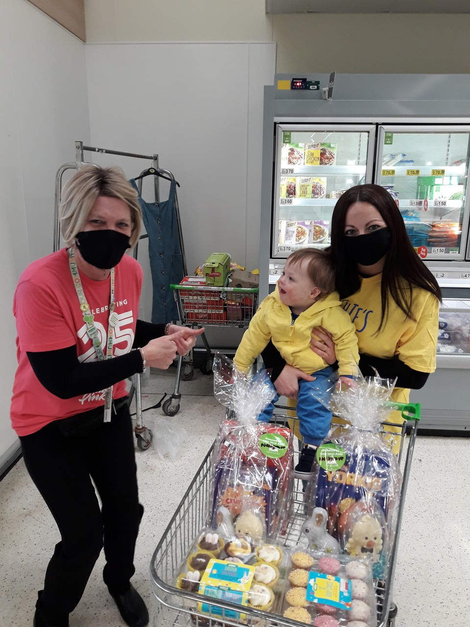 Easter treats for Down syndrome charity | Asda Coventry