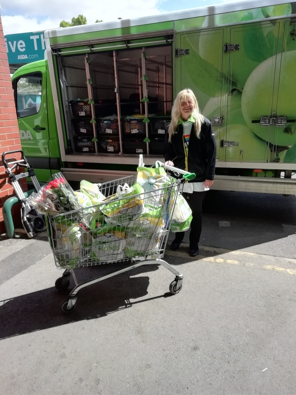 Shopping for vulnerable colleagues | Asda Morley