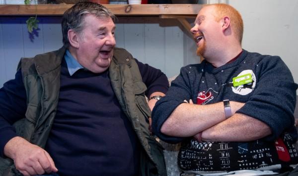 Asda Fight Hunger Create Change scheme supports the Veterans Community Cafe in Edinburgh
