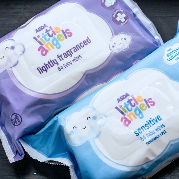 New baby wipes packaging