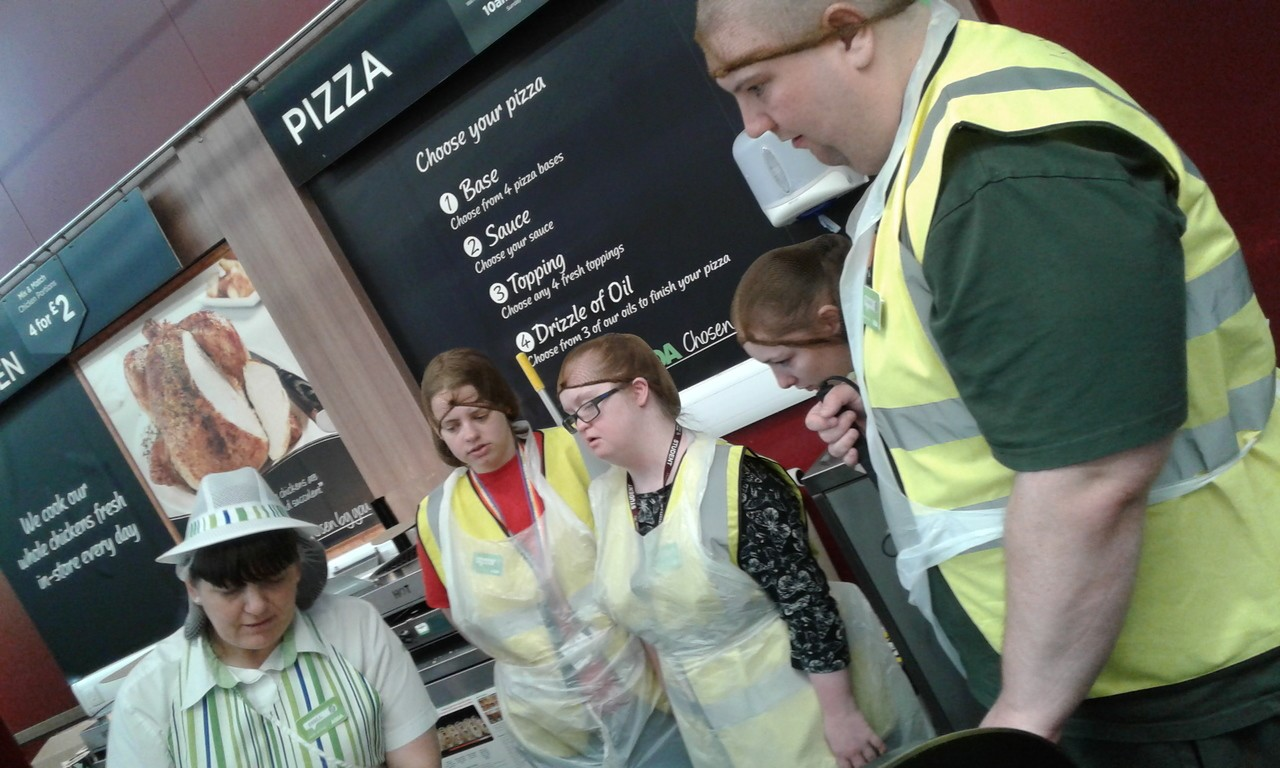 Students experience the world of work at Asda Bootle