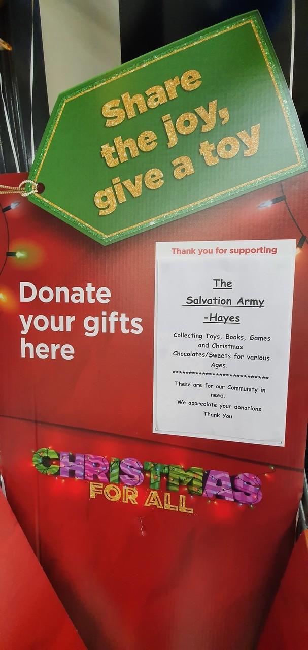 Christmas Gift appeal | Asda Hayes
