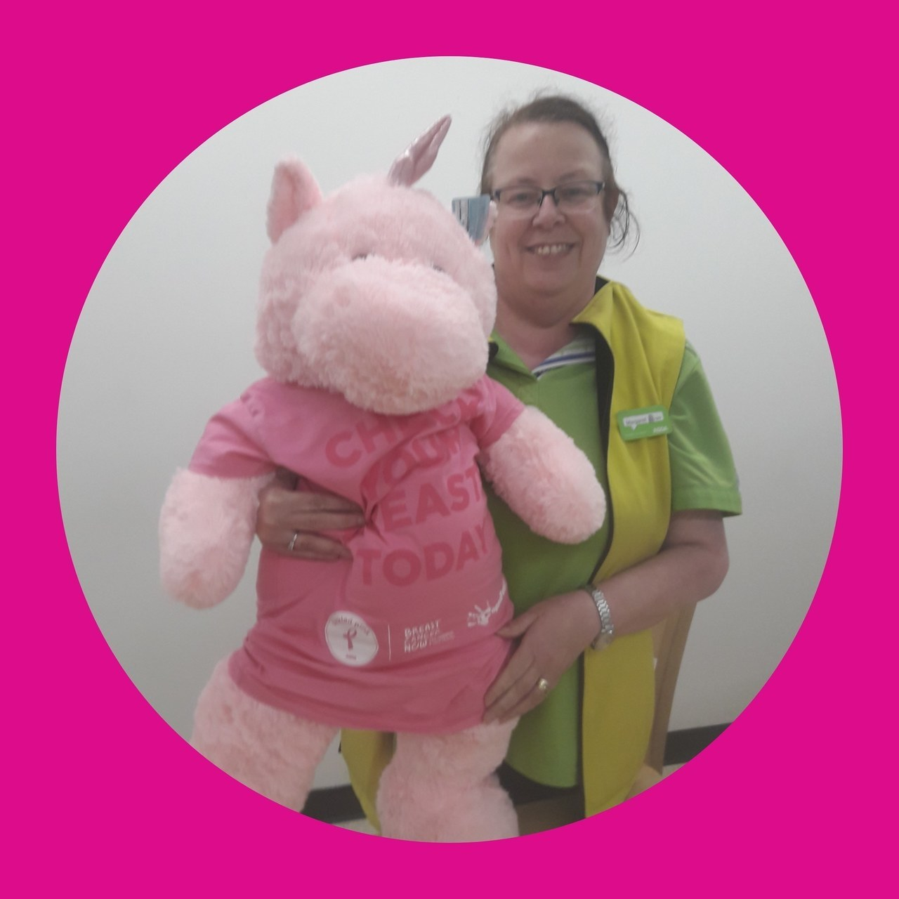Tickled Pink fundraising weekend | Asda Hartlepool