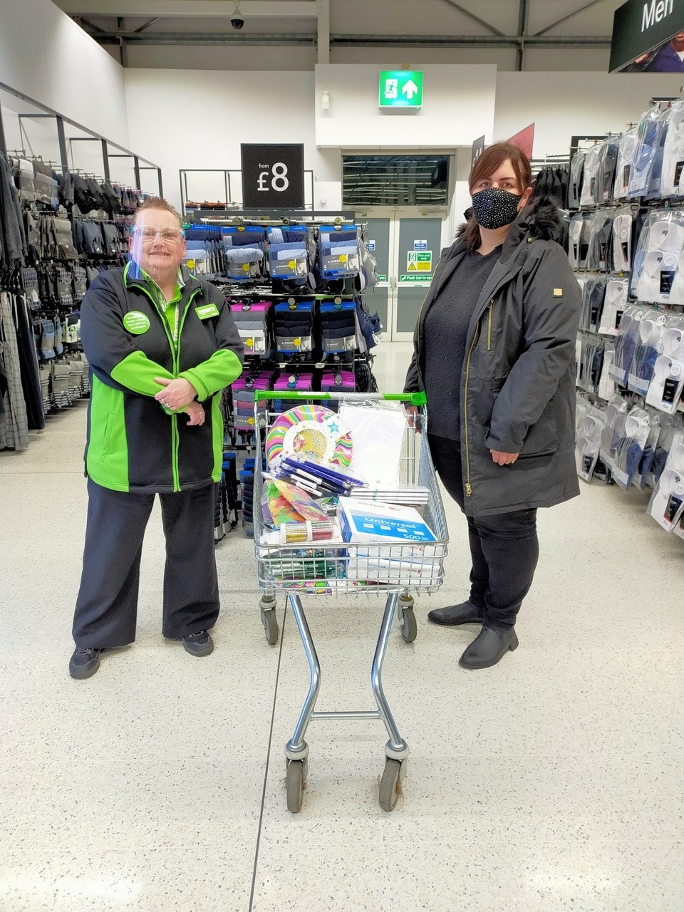 Crafts for local primary school | Asda Southport