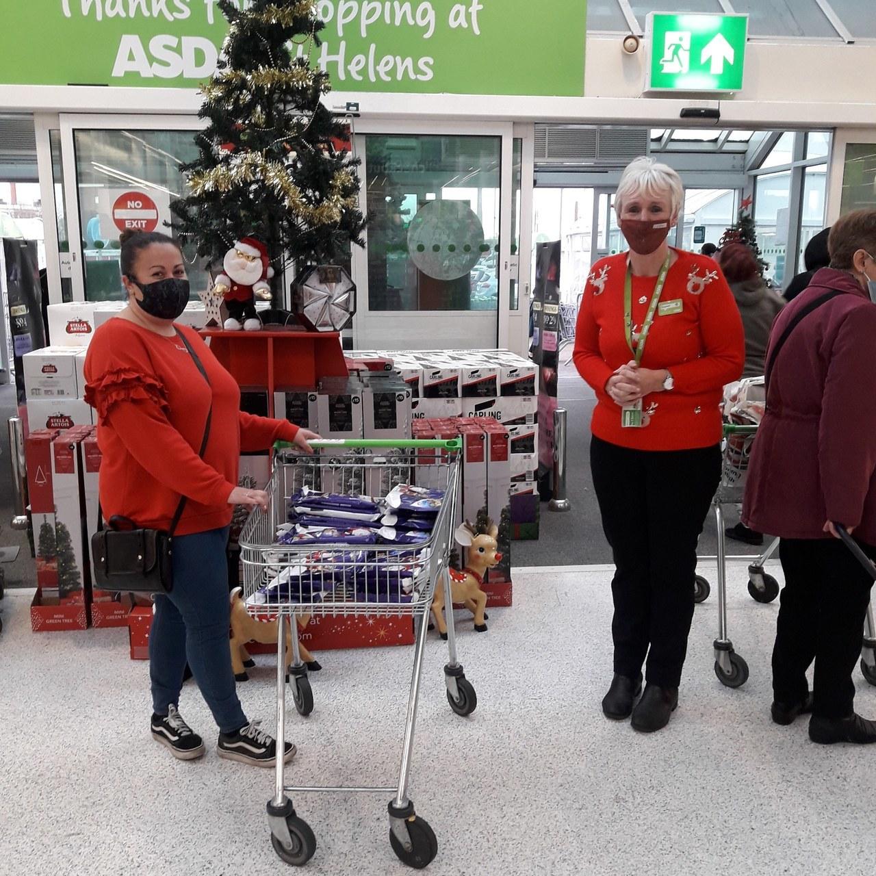 Asda St Helens donates | Asda St Helens