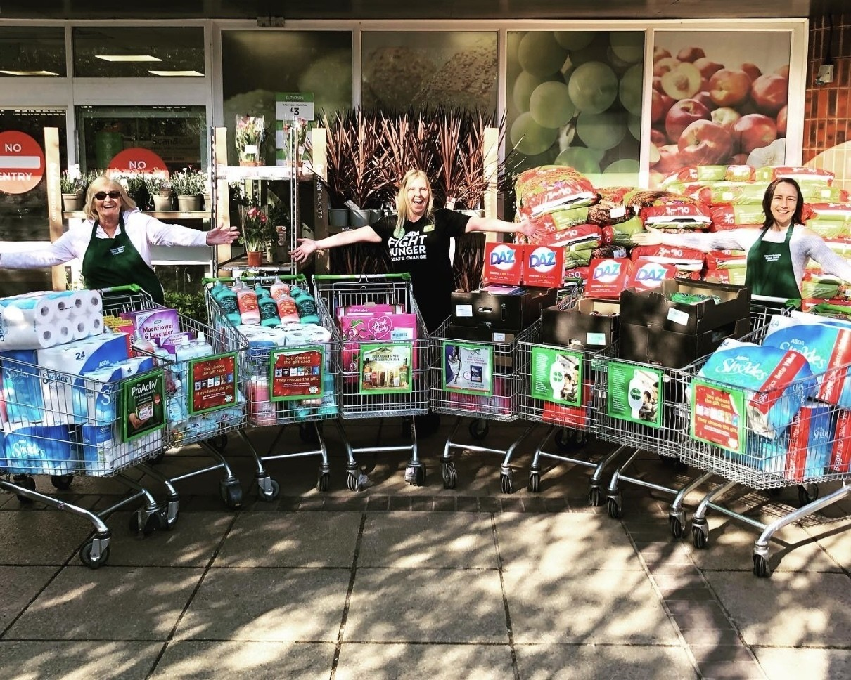 Supporting Waterlooville Foodbank | Asda Waterlooville
