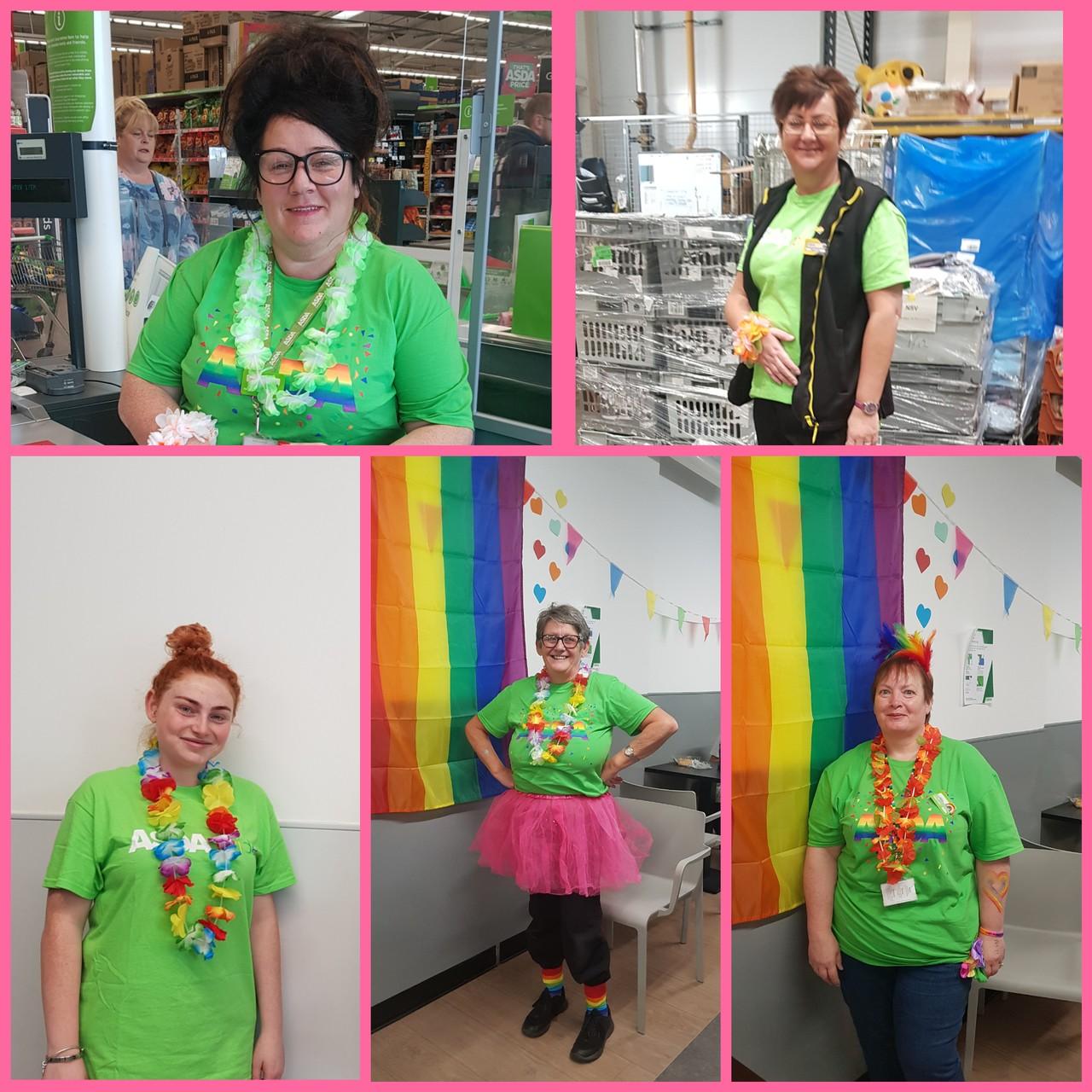 Supporting Cardiff Pride | Asda Tonypandy