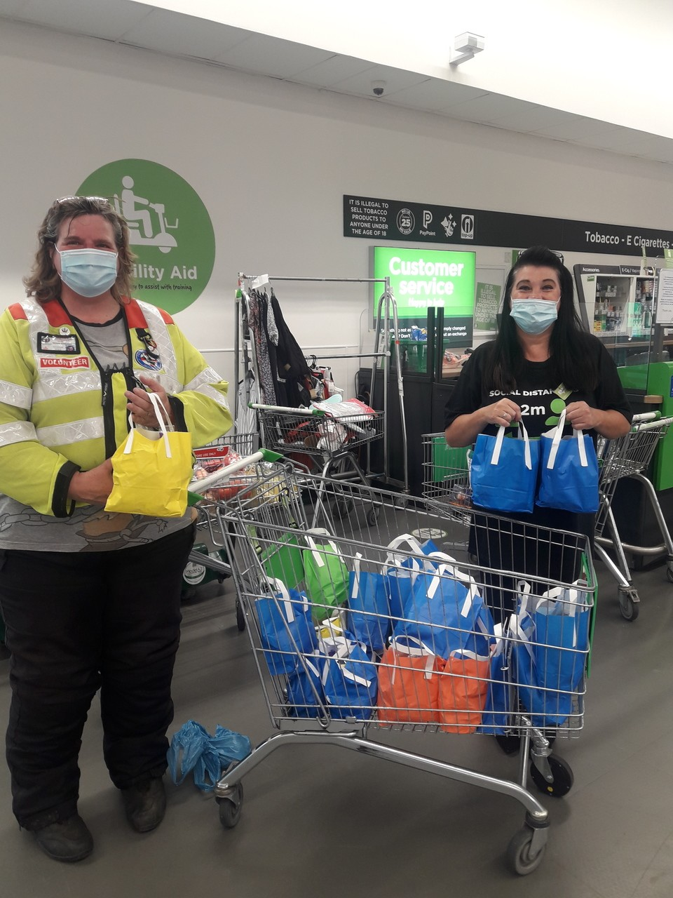 Donations for the Freewheelers EVS Blood Bikers | Asda Patchway