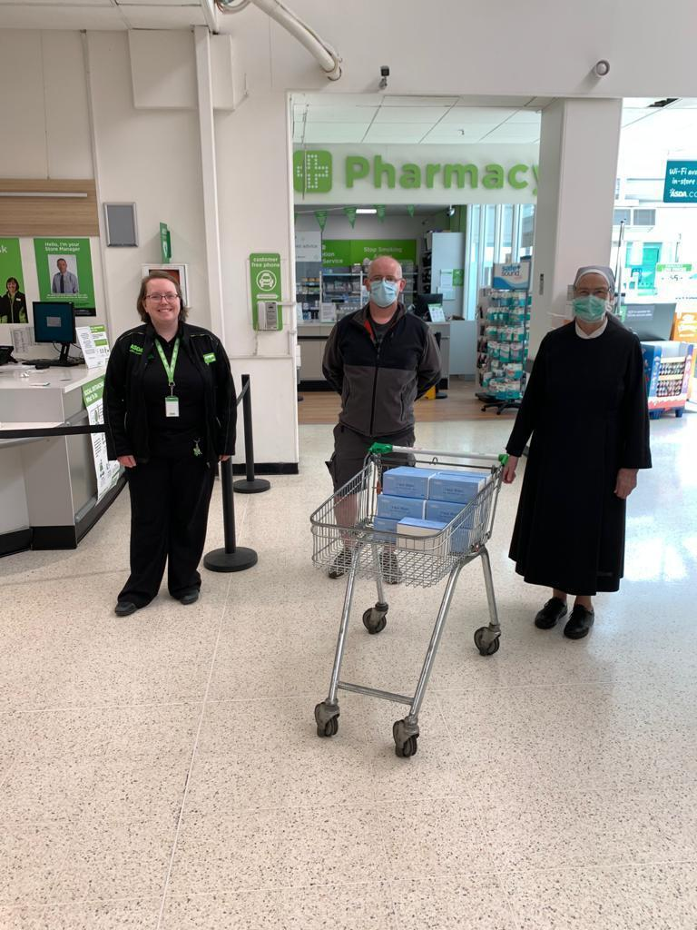 Face mask donation | Asda Robroyston