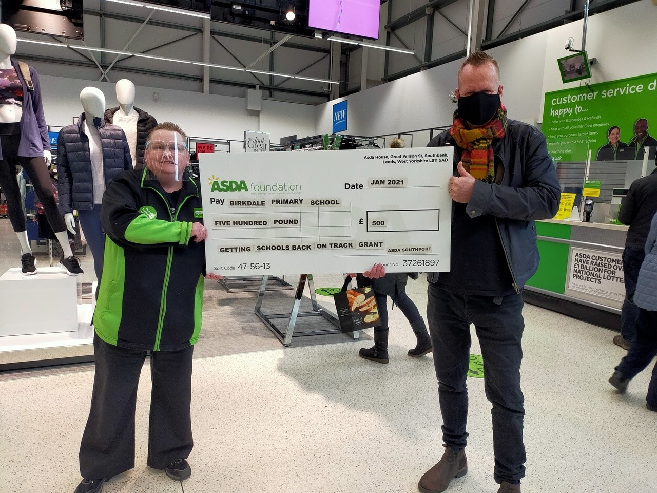 Birkdale Primary School grant | Asda Southport