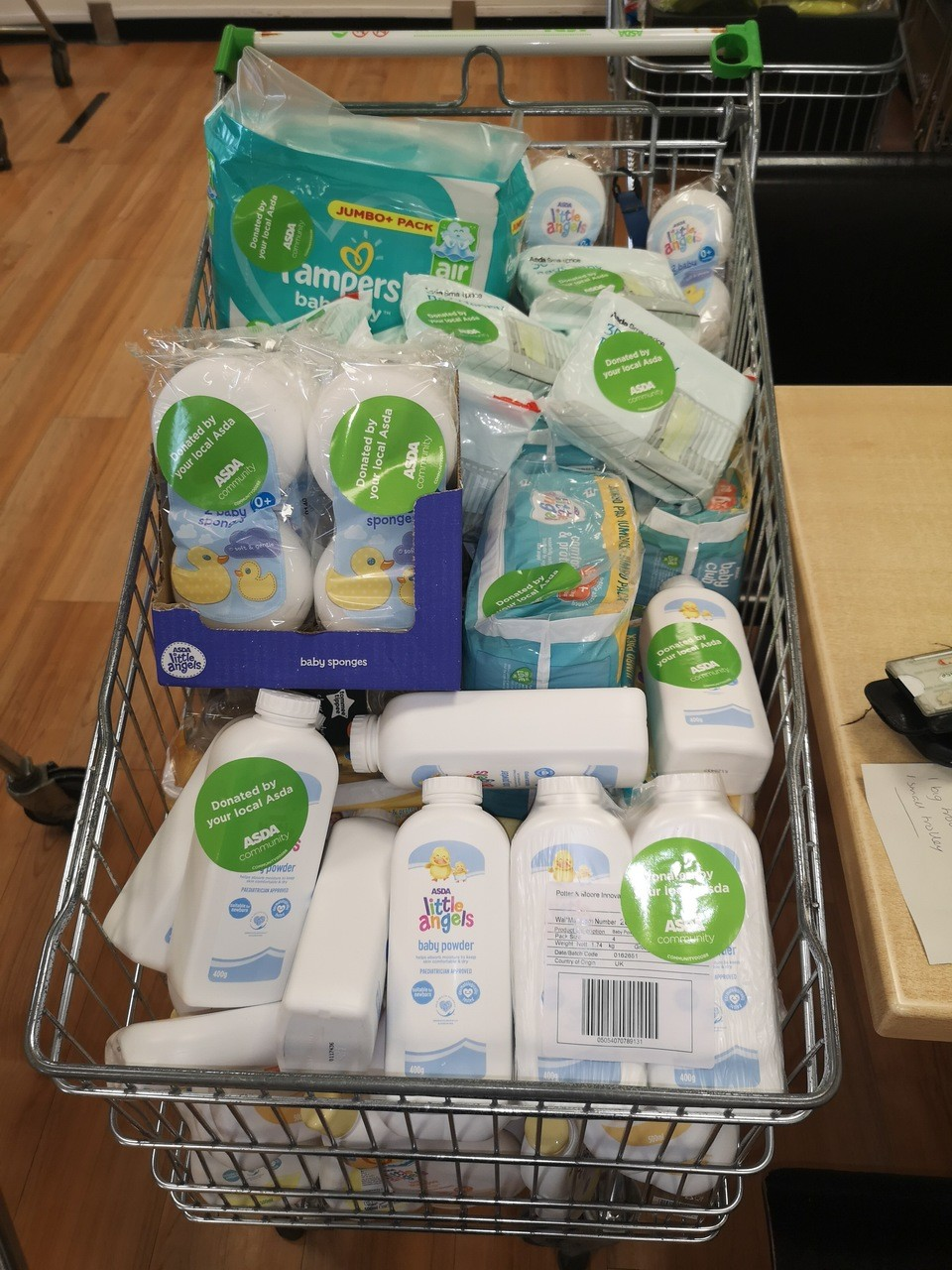 Moray Baby Bank donaiton | Asda Elgin