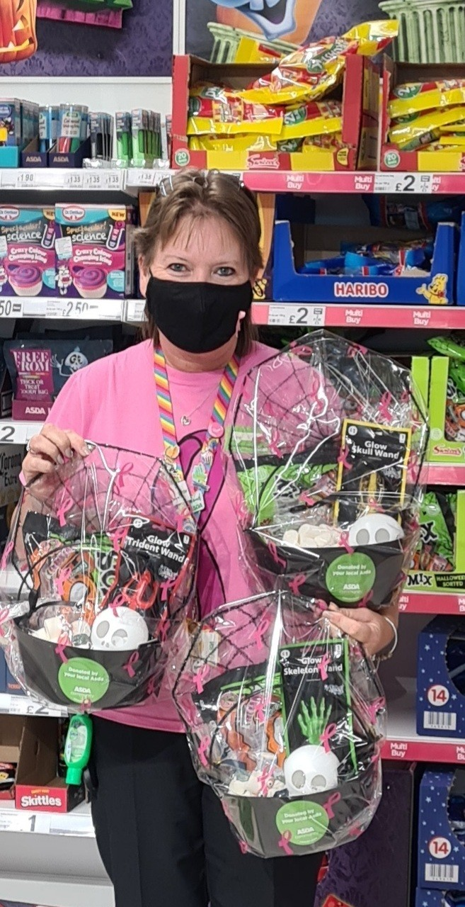 Halloween treats for Nineacres Community Primary School | Asda Newport Isle of Wight
