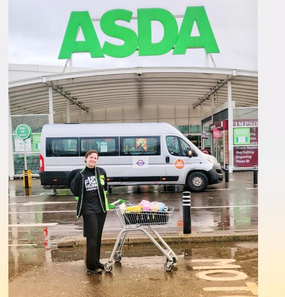 Donation for Barts Health NHS Trust | Asda Leyton Mills