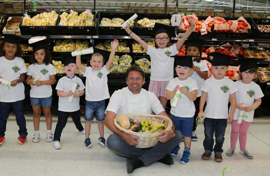 Asda launches Food School with TV chef James Martin to make food education fun and inspire the next generation of cooks