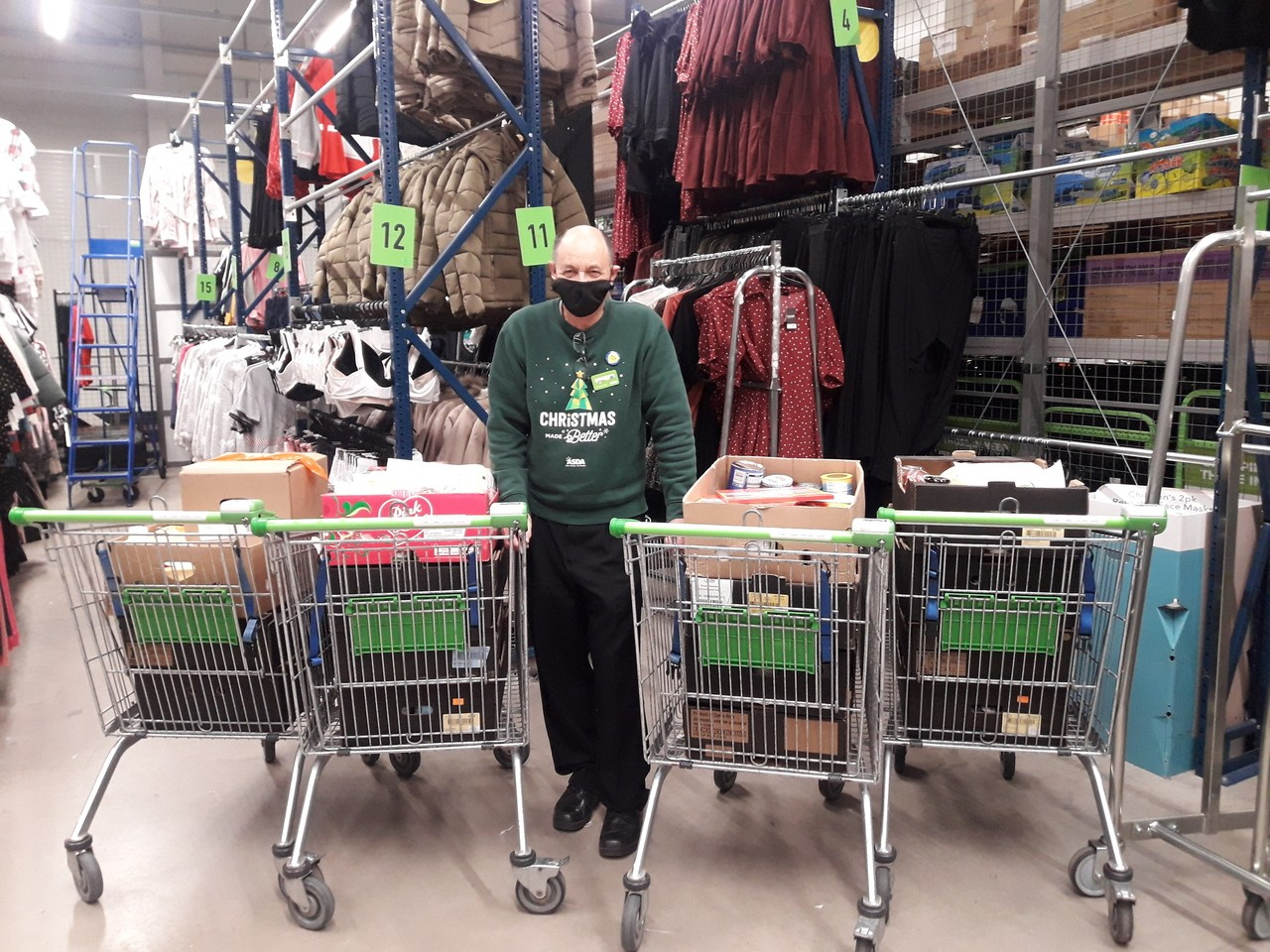 Foodbank support | Asda Barnstaple