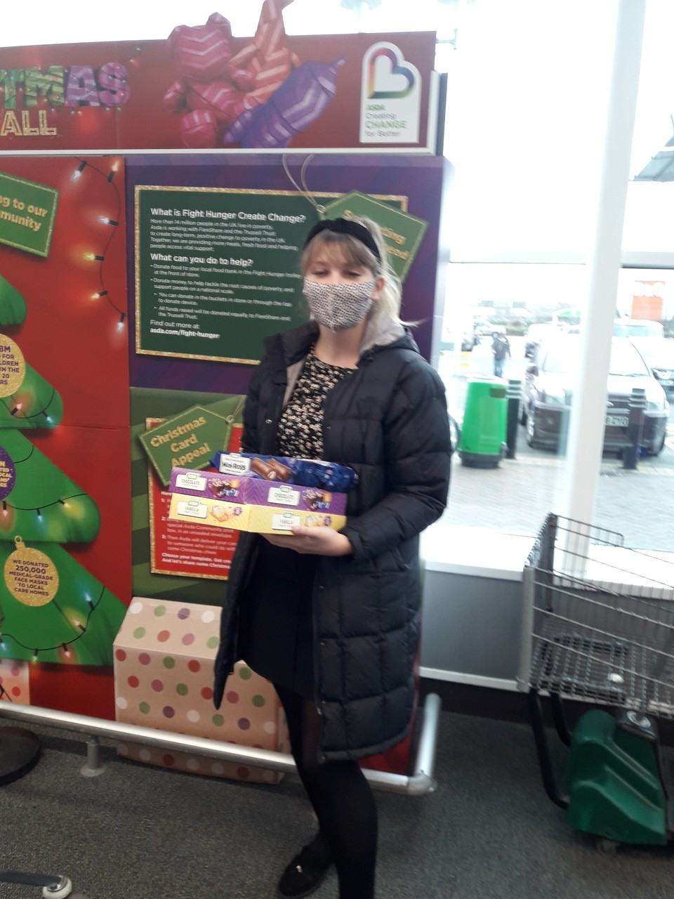 Christmas donation | Asda Leigh