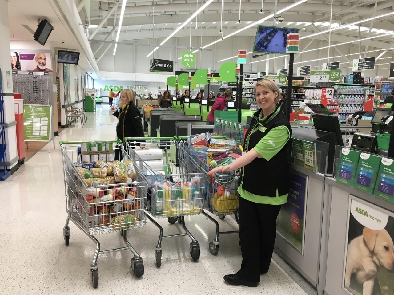 Food Bank Donations | Asda Clayton Green