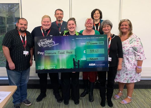 Christmas grant from Asda Newark