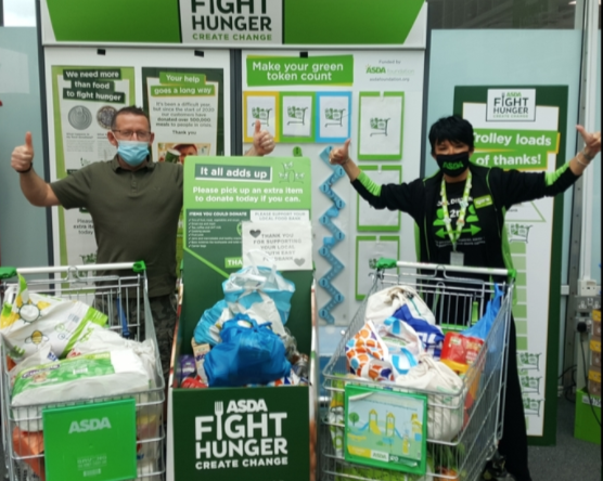 Foodbank support | Asda Toryglen