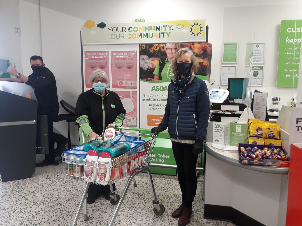 Helping hand for community group | Asda Bedminster