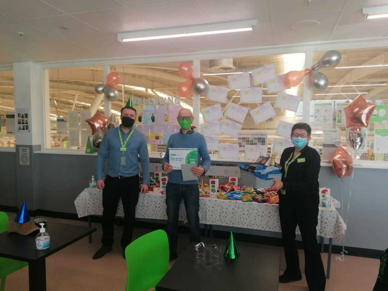 Peter makes finals of Asda colleague of the year award | Asda Lincoln North Hykeham