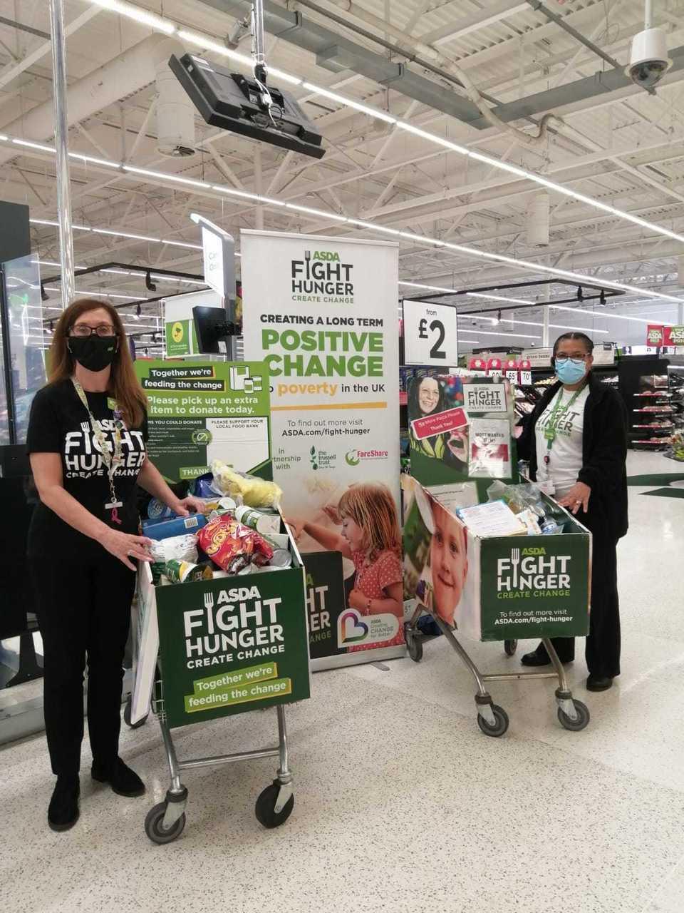 Asda Fight Hunger Create Change   Asda Oadby
