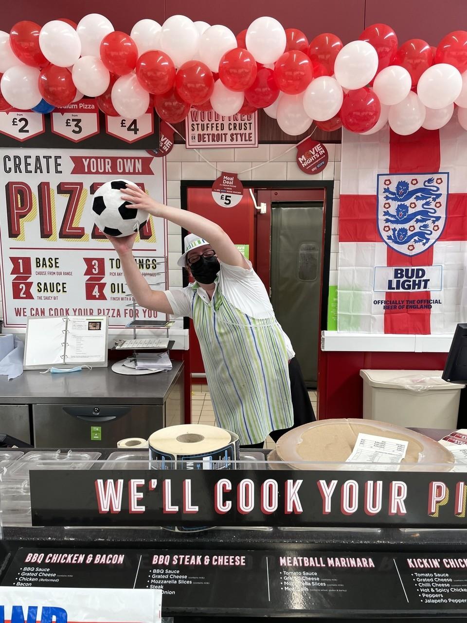 Come on England!   Asda Swindon Haydon