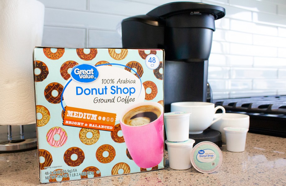 Great Value Donut Shop Coffee Pods