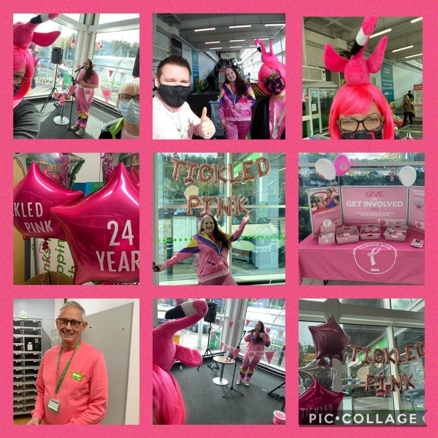 Tickled Pink fun  | Asda Telford